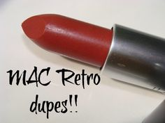 MAC Retro Dupes!! Deepika Padukone, SLAYS this One ;)Mac Retro is a muted plum brown shade which comes with a satin finish.  Something which easily qualifies for a brown shade with just the right amoun... #macdelrio #macdelriodupes #macretro #macretrodupes #rimmelkatemosslastingfinish112 #rimmellastingfinish112dupes #wetnwildspikedwithrumdupes #wetnwiledspikedwithrum