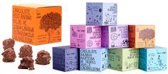 巴西纯手绘巧克力包装鉴赏 简单又特别