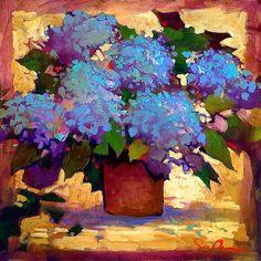 Hydrangea II by Simon Bull