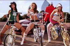 Like the bikes, not too thrilled with the lack of class that is straddling them, though. Just saying...