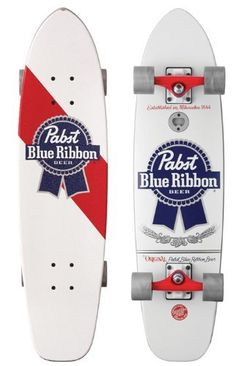 Santa Cruz PBC PBR Cold One Cruzer Complete (7.9 in X 31 in) by Santa Cruz Skate. $114.95. 7.9 in 31 in PBC PBR Cold One. What'll You Ride? The PBR Cold One!Manufactured by Santa Cruz and Pabst Brewing Company bring you your all time favorite American suds. This ain't no yuppie light, micro brew, disco club beer series. This is all the  real man favorites . . . Colt 45, Lone Star Beer, Olympia Beer, Primo Beer, Schlitz Beer, Pabst Blue Ribbon and more.? Pabst Brewing Com...