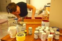 Pierwszy PatyNowy warsztat: praca wre First PatyNowy workshop: work in progress