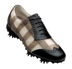 Womens FootJoy LoPro 97174 Brn Plaid/Black WaterProof Leather Golf Shoes by FootJoy. $49.99. Full Grain Leather Uppers?? Full grain leather uppers offer outstanding comfort, breathability, and durability.?? 1-Year Waterproof Warranty?? FootJoy warrants that this golf shoe will be waterproof in normal use for one year (U.S. Warranty).?? Extra-Thick PU Fit-Bed w/ Dri-Lex cover?? Provides super cushioned underfoot comfort and closely mimics the natural shape of the foot. ?? ...