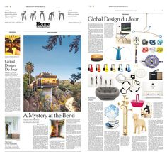 New York Times features the Drops Wall Sconce designed by Patrick Naggar for Veronese.