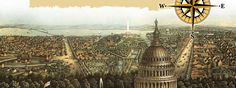 View of Washington D.C. from 1871. (Library of Congress, Geography and Map Division [G3851.A35 1871])