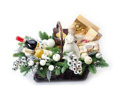 """Подарочные наборы и корзины : Подарочная корзина """"Новогодние…"""