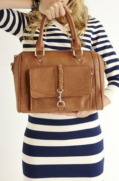 Very nice brown handbag.