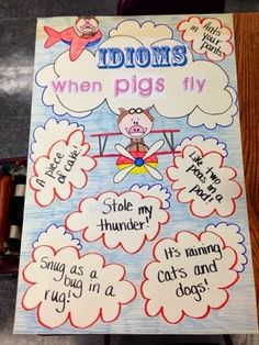 Adorable Idioms Anchor Chart
