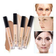 TWO.O Makeup Concealer Liquid Cosmetics Dark-Skin Eye-Dark-Circles Full-Coverage Blemish Face Contouring Makeup, Face Makeup, Makeup Brush, Wedding Eye Makeup, Eye Base, Long Lasting Makeup, Cream Concealer, Perfect Makeup, Flawless Skin