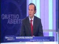 Manuel Rincon, Abogado, en la entrevista realizada en Canal Sur