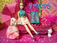 3 Dresses and a Topper Dawn Doll by cattaps on Etsy, $33.00