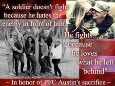 A soldier...