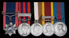 A rare Central Africa 1894 operations I.O.M. group of five awarded to Subadar Bulaka Singh, 26th Baluch Infantry, late 45th Sikhs  Indian Order of Merit, Military Division, 1st type, 3rd Class, Reward of Valor, silver and enamel; India General Service 1854-95, 1 clasp, Hazara 1888 (2188 Sepoy Bulaka Singh, 45th Bl. Infy.); Central Africa 1891-98, no clasp, unnamed, swivel-ring suspension; China 1900, 1 clasp, Relief of Pekin (Jemdr. Bulaka Singh, 26th Baluch Infy.); Delhi Durbar 1911…