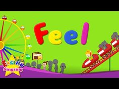 Kids vocabulary - Feel (Feelings or Emotions) - Are you happy? - English video for kids - YouTube