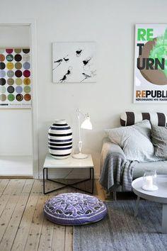 La maison d'Anna G.: Inspiration danoise. Man kan tydeligt se det danske strejf... Kähler er selvfølgelig også en god indikator