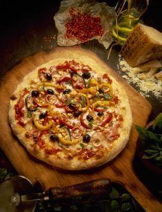 Las mejores 15 variedades de pizzas. Caprichosa