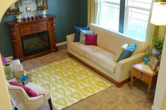 Statement rugs can run thousands. So while you're saving up for the one you love, make a trendy one you might like better.