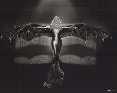 Mae West a la Chauve Souris Douree (the gilded bat by Edward Gorey)
