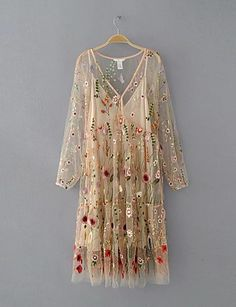 Cheap summer dress, Buy Quality summer dress women directly from China dress women Suppliers: whole flower Embroidery mesh summer dress women two pieces Vintage transparent party sheer sexy dress with strap dresses inside Cheap Summer Dresses, Summer Dresses For Women, Trendy Dresses, Women's Fashion Dresses, Dresses For Sale, Ladies Dresses, Women's Dresses, Dresses Online, Manga Floral