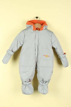 Fourcast Boys' Robbie Infant Snowsuit In Soft Grey