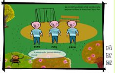 Cuentos infantiles: Cuentos al revés. Cuentos interactivos.