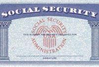 19 Soc Sip Ideas Id Card Template Social Security Card Card Templates Free