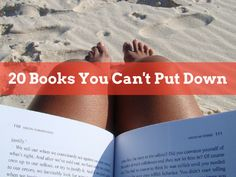 Here are some great summer books that you can't put down. I've listed out 20 of my favorite books for summer reading 2015.