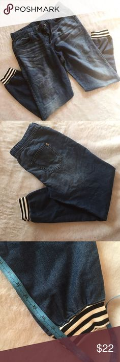 NWOT juicy couture medium Jean jogger pants Excellent condition like new comfy Juicy Couture Pants Track Pants & Joggers