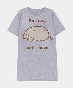 So Lazy Pusheen unisex T-shirt