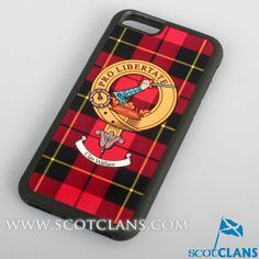 Wallace Clan Crest iPhone Cover