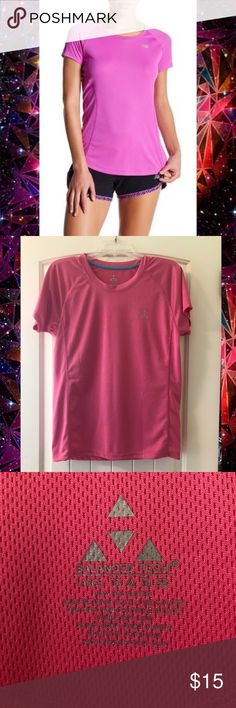Pink workout shirt Balance tech pink workout shirt. Tags: pink workout stay dry large Balance Tech Tops Tees - Short Sleeve