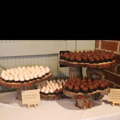 Cupcakes for a wedding I did.