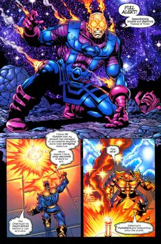 Thanos 005 Page 7 Comics Universe, Marvel Cinematic Universe, Batman Comics, Dc Comics, Galactus Marvel, Comic Layout, Comic Panels, Silver Surfer, Marvel Vs