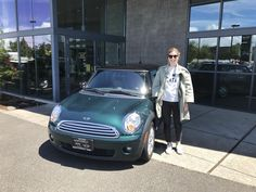 CHELSEA, we appreciate your business!  Wishing you many miles of smiles from all of us here at Northwest MINI and Terry Soumis.