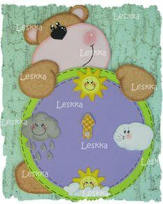 Leskka - Arte em e.v.a Kindergarten Teachers, Kindergarten Activities, Activities For Kids, Classroom Job Chart, Classroom Decor, Learning Weather, Class Decoration, Book Quilt, Foam Crafts