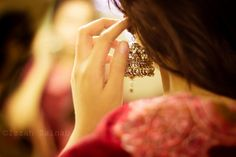 Photograph The Indian earring: Jhumka by Izzah Zainab on