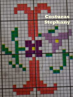 COSTURAS STEPHANY : Abecedario En Punto De Cruz