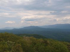 View From Look Rock, Great Smoky Mountains National Park 5/9/2013