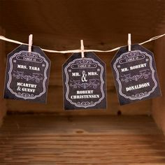 Create awesome tag shaped escort cards in a snap using AccuCut Pinnovation dies.  The chalkboard effect is a fun touch, but that is the great thing about dies. You can create whatever design you want for whatever  occasion you need. See more at www.accucutcraft.com