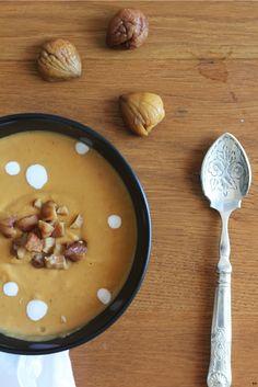 Une touche de rose: blog mode, DIY, cuisine, beauté: Velouté de courge butternut-châtaignes-lait de coco et cornbread :: FOOD
