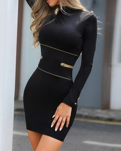 Women's Fashion Bodycon Kleider Online Shopping – Chic Me Classy Outfits, Chic Outfits, Dress Outfits, Fashion Dresses, Girly Outfits, Modest Fashion, Trend Fashion, Fashion Mode, Womens Fashion