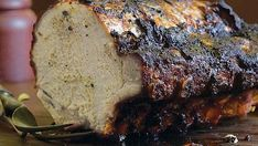 Spice-Rubbed Pork Loin with Jalapeño-Lime Salsa - Recipe - FineCooking Grilled Pork Loin, Smoked Pork Shoulder, Cooking Torch, Cooking Pork Chops, Latin American Food, Venison Recipes, Spice Rub, Salsa Recipe, Cooking Light