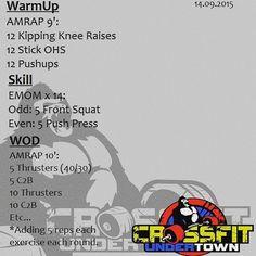#wod #cftundertown #crossfit #workout #barbellwod #strength #gymnastics #ladder #thrusters #c2b #teamseries #wod4 #xeniosusa #roguefitness #netintegratori #gonutrition #progenex #supportyourlocalbox
