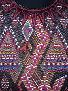 Auth. VINTAGE Guatemalan Huipil: Chichicastenango w/Quetzalcoatl, Mayan BACKSTRAP Art, Fair Trade. $159.65, via Etsy.