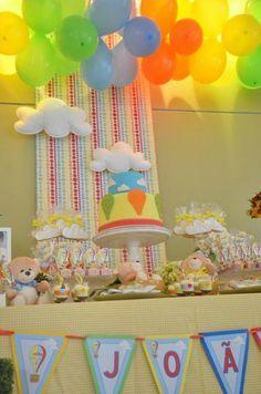 festa infantil céu