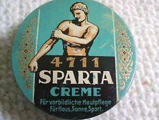 alte Blechdose 4711 Sparta Creme 1950 ies ? Köln