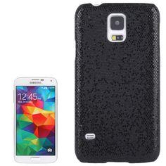 Glitter Glitzer Backcover Case fürs Samsung Galaxy S5 i9600 Schwarz