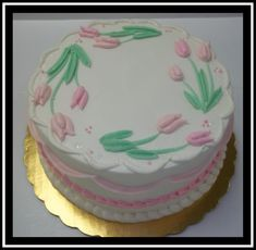 White Buttercream, Buttercream Filling, Frosting, Marble Cake, Yum Food, Holiday Cakes, Round Cakes, Classic Collection, Tulips