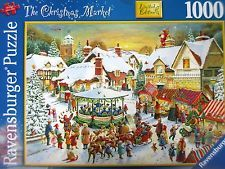 Ravensburger Christmas 2007 - The Christmas Market - 1000 Piece Jigsaw Puzzle