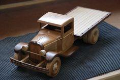 1929 Ford Camiones Stakebed - POR WoodScrap@LumberJocks.com ~ comunidad párr Trabajar la Madera
